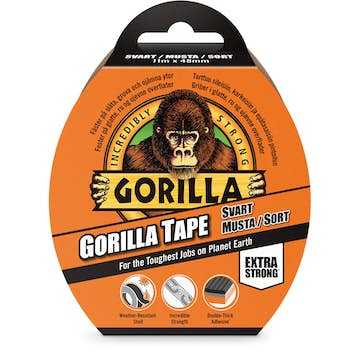 Tejp Gorilla Tape Svart 11mx48mm