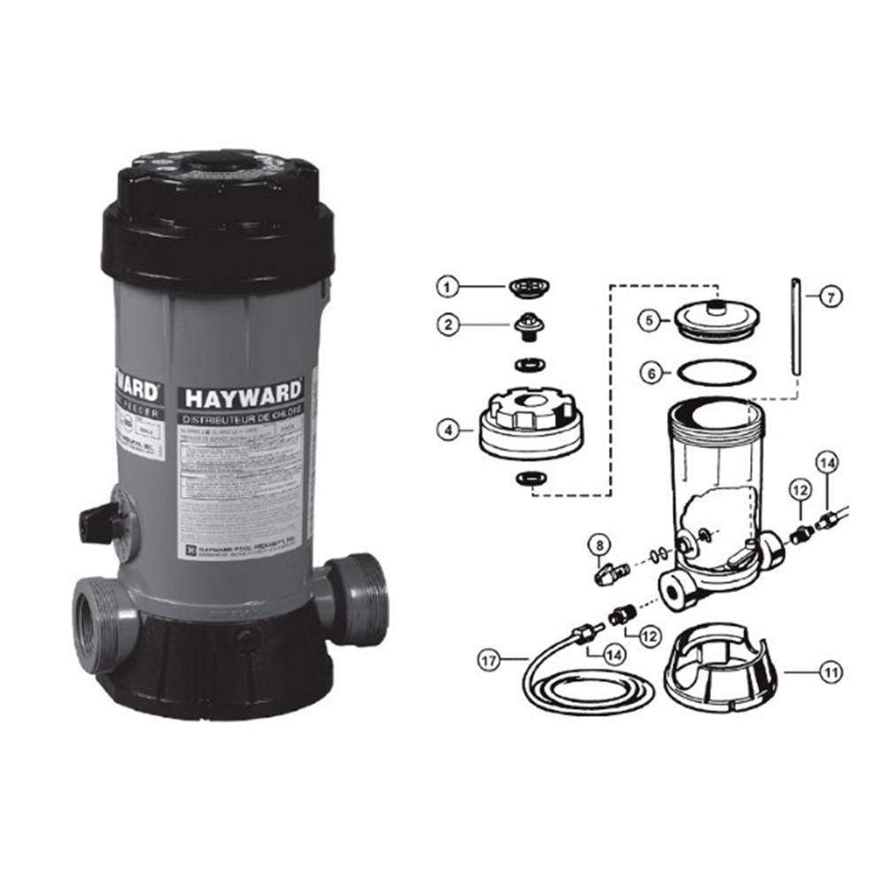 Hayward filter krok upp