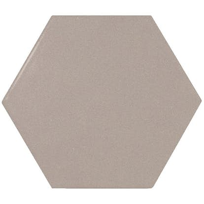 Klinker Konradssons Scale Grey Grå Hexagon 10x20 cm