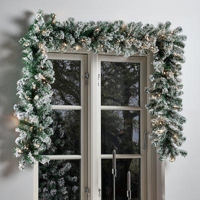 julbelysning utomhus istappar