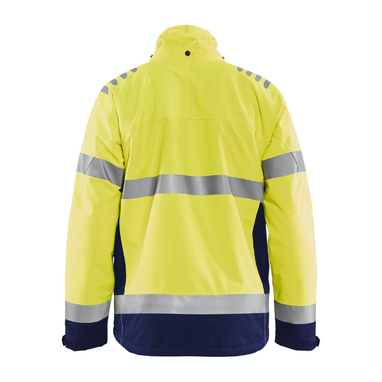 Avery Logo Heavy Tec Fleece Shirt 7-Button Jac Shirt Jacket Marsh Grass 2XL XXL