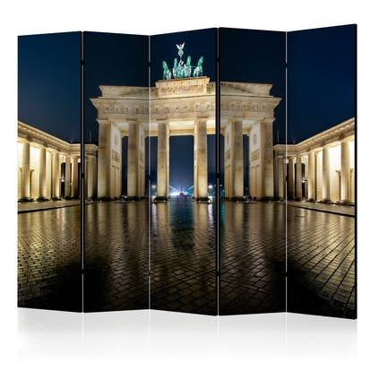 Rumsavdelare Arkiio Berlin at Night II Brandenburger Tor 225x172 cm