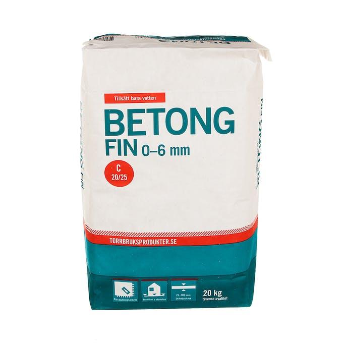 Strålande Betong Fin Torrbruksprodukter 20 kg T28105 TN-25