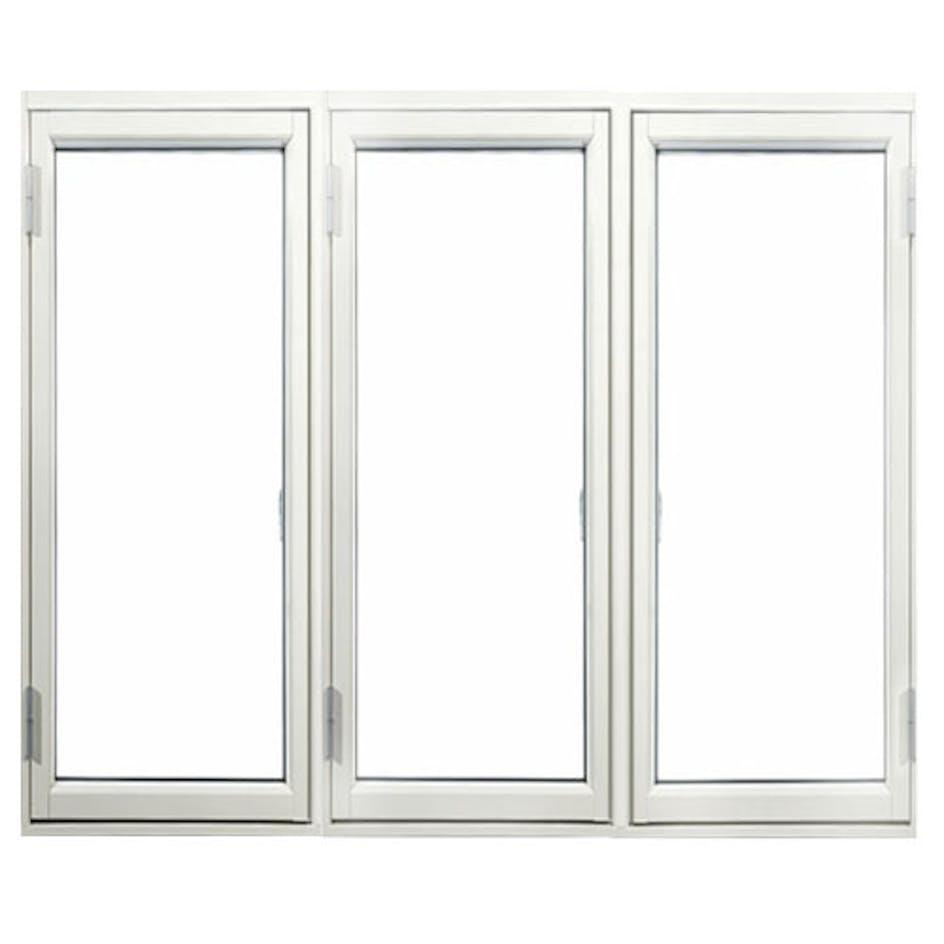 Sidohängt Fönster Outline 3-Glas Aluminium 3-Luft bea910589fa73