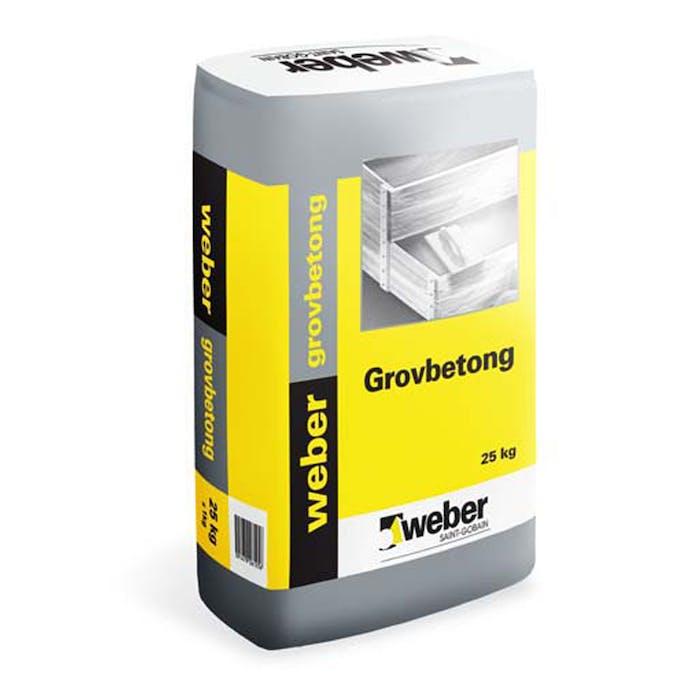 Omtalade Grovbetong Weber C32 25 kg 006618299 Bygghemma.se OH-42