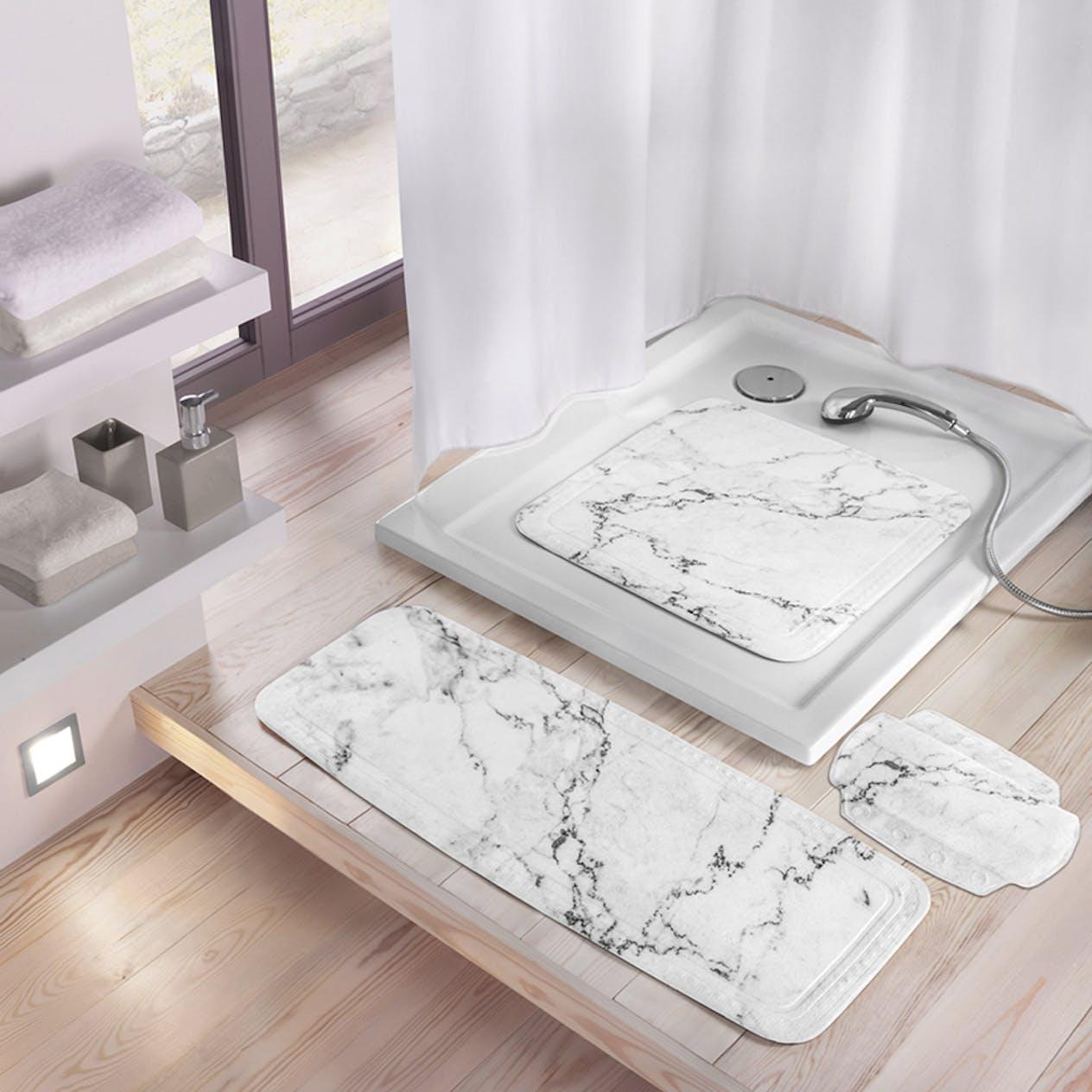 Halkmatta Kleine Wolke Marble för dusch 4102901002 76a0e0e5818f5
