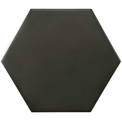 Klinker Tenfors Twist Black 14x16 cm