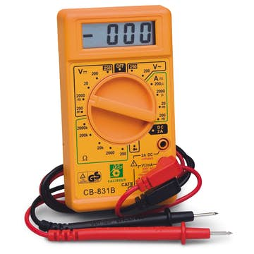 Multimeter Bårebo Digital Universal