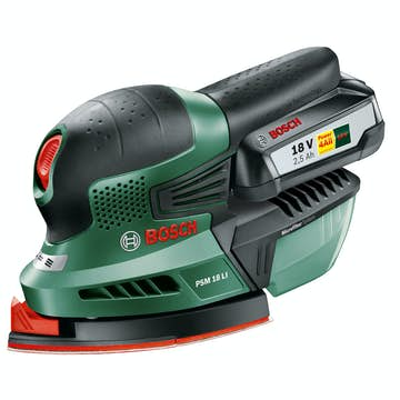 Multislip Bosch Power Tools PSM 18 LI 2,5 Ah
