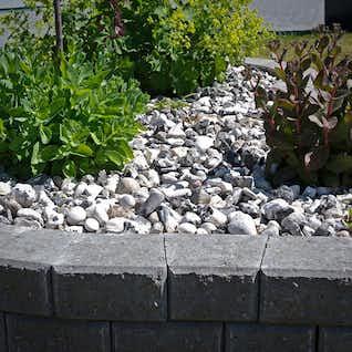sten dekoration trädgård