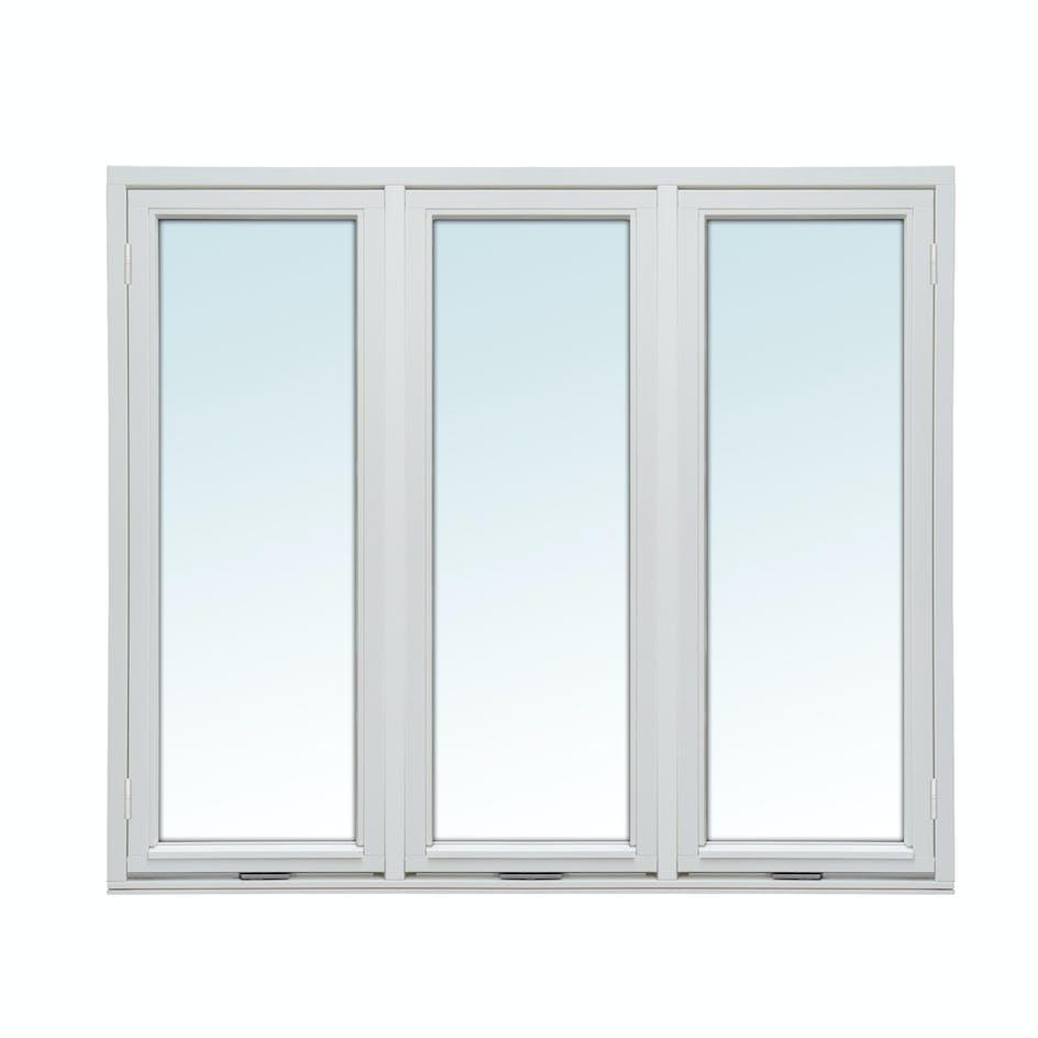Sidohängt Fönster Nordiska Fönster Norrland 3-Glas Trä Handtag 3-Luft b56caeff6e705