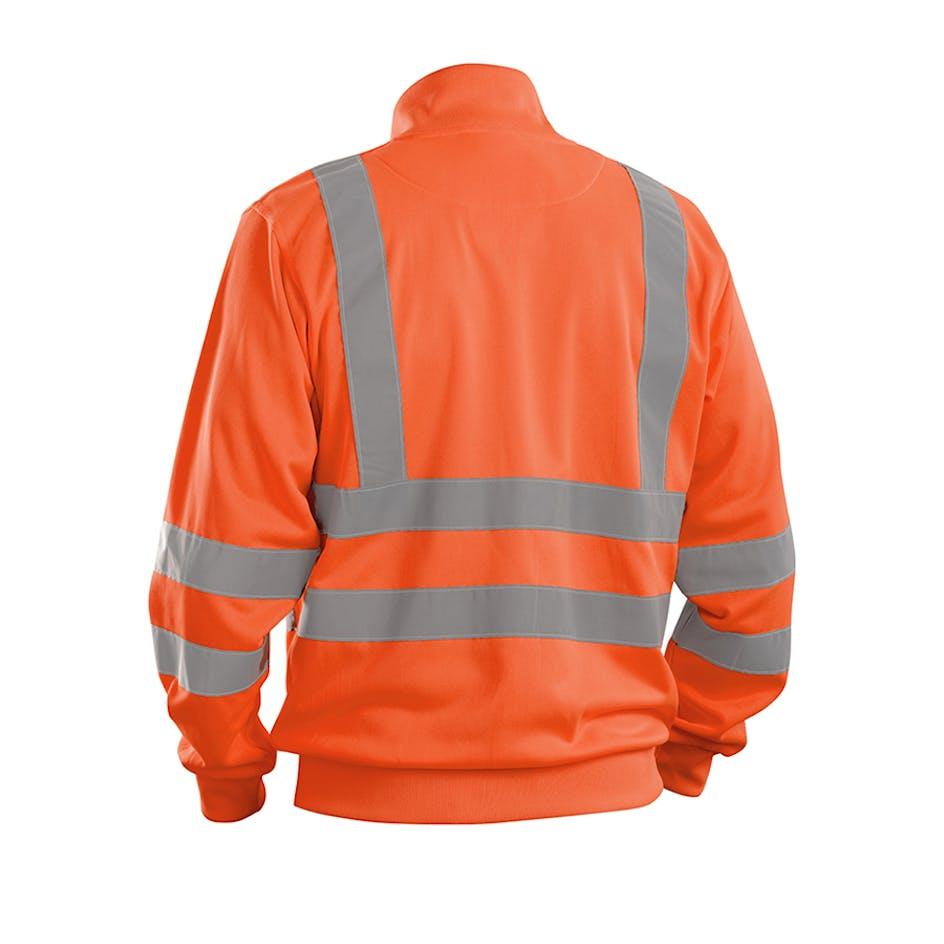 Sweatshirt-jacka Varsel Blåkläder 3358 - 335819745300XXS 461bc3ae3dca4