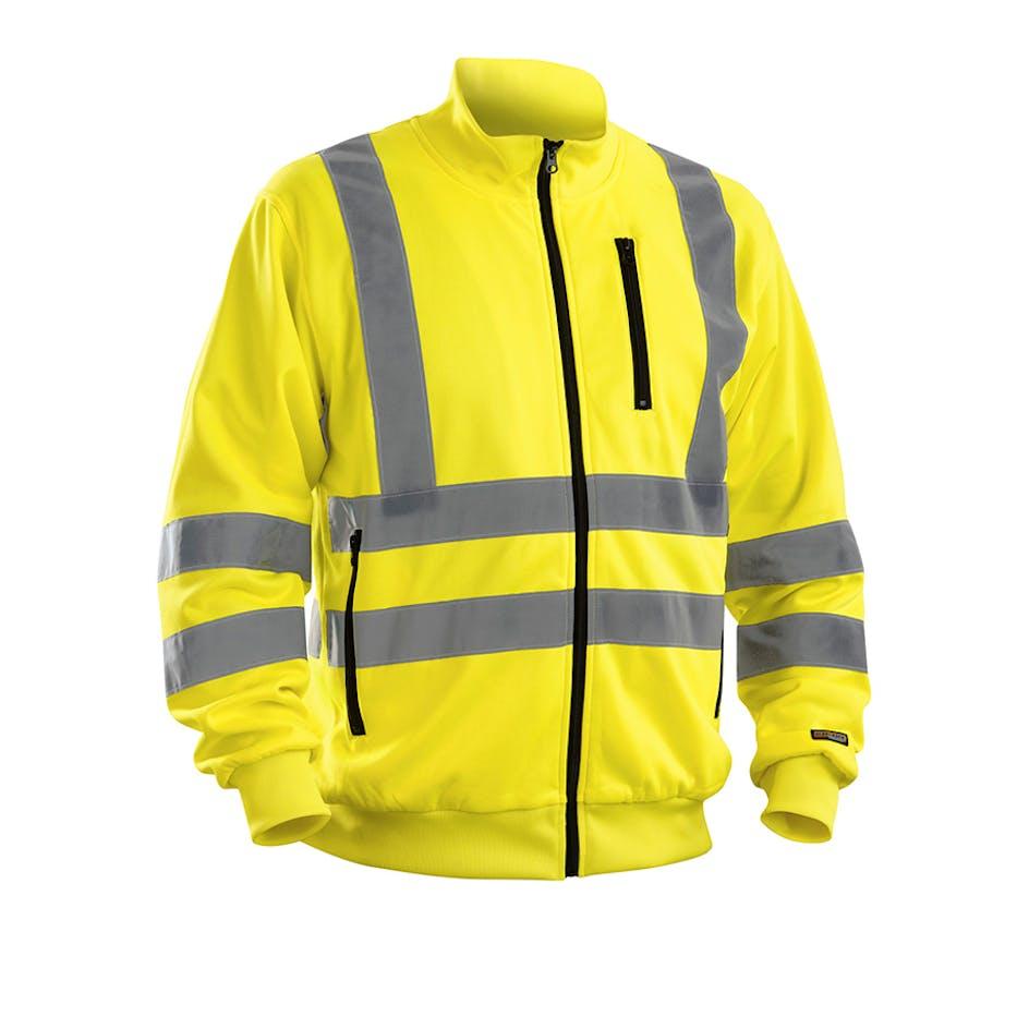 Sweatshirt-jacka Varsel Blåkläder 3358 - 335819743300XS 0df6ce70f6d67