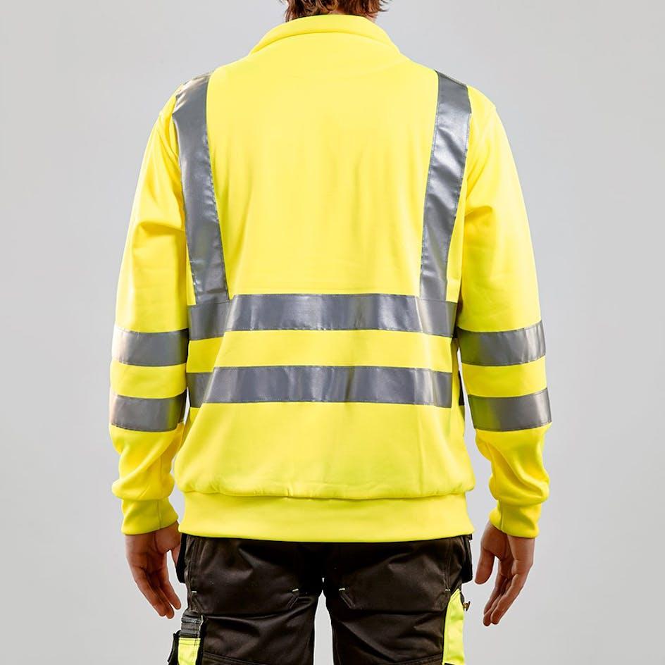 Sweatshirt-jacka Varsel Blåkläder 3358 - 335819743300XXL caa2628c1d2da