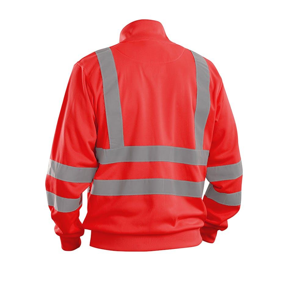 Sweatshirt-jacka Varsel Blåkläder 3358 - 335819745500XS 3f16295cda7dc