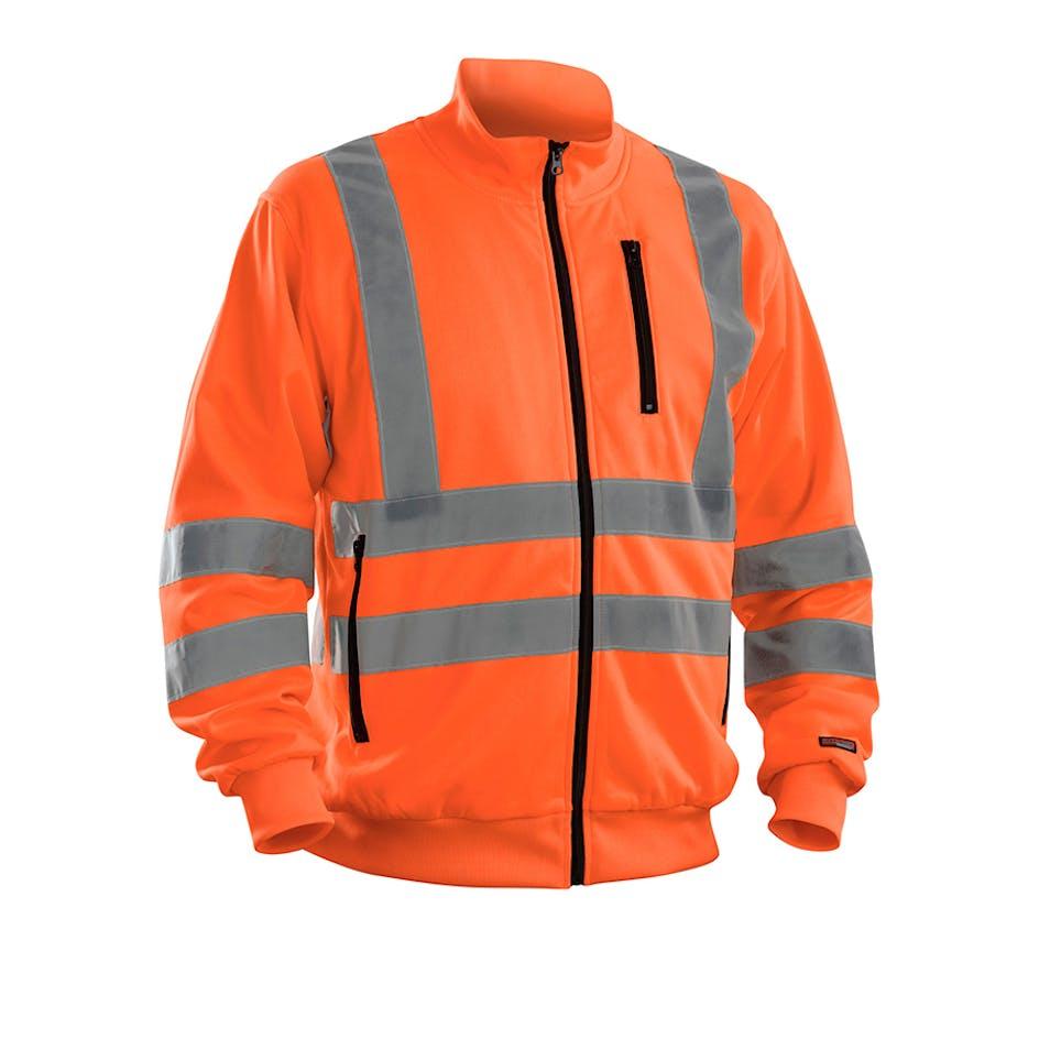 Sweatshirt-jacka Varsel Blåkläder 3358 - 335819745300S 4aeebcad6c336